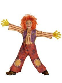 [Disguise Boys 'Moe Doodle Deluxe' Child Costume, Orange, 2T] (Doodlebops Moe Costume)