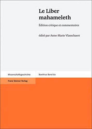 Le Liber mahameleth: Edition critique et commentaires (Boethius) (French Edition)