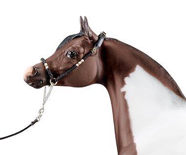 Breyer Leather Halter (Arabian Show Halter with Lead)