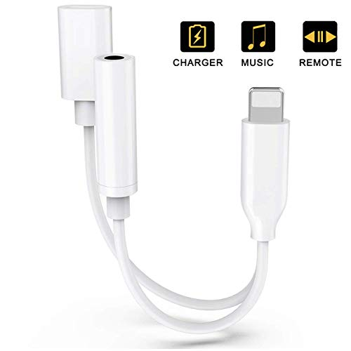 Headphone Adaptor for iPhone Adapter 3.5mm Jack Dongle, used for sale  Delivered anywhere in Canada