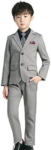 ボーイズ スーツ 5点セット ジャケット シャツ ベスト ズボン ネクタイ フォーマルウェア キッズ 子供 紳士服 タキシード かっこいい 結婚式 卒業式 発表会