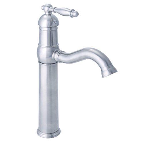 Dyconn Faucet VS1H08-CHR Otay Vessel/Bar/Bathroom Sink Single Handle Faucet, 12.5