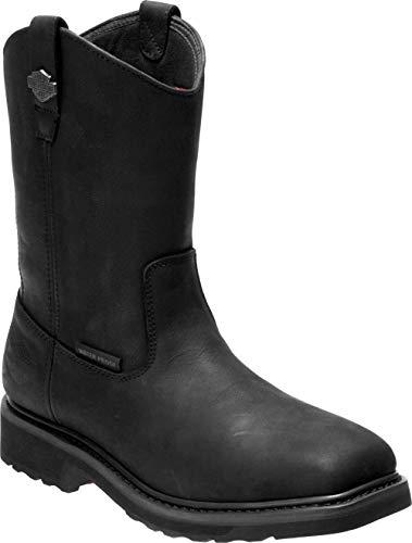 Harley-Davidson Men's Altman 10-In Waterproof Motorcycle Boots D93561 (Blk, 13)