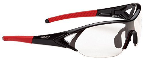 (PK) 2014 BBB Unisex BSG-44 Impact Sport Glasses Black Red Tips PhCr Lens