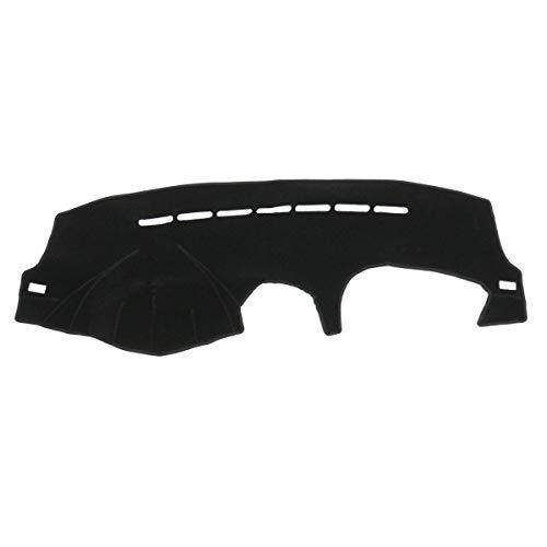 Black LHD Car Dashboard Cover Dash Mat Sun Visor Shade Carpet for Peugeot 206