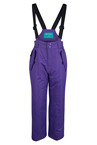 Mountain Warehouse Honey Kids Snow Pants - Ski Bibs, Suspenders