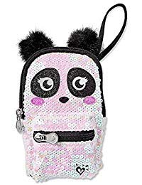 (Justice Wristlet Tiny Mini Panda Backpack)
