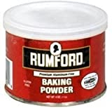 Rumford Baking Powder 4 Oz (Pack of 6)
