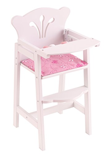 KidKraft Lil' Doll High Chair (Doll Furniture Set)