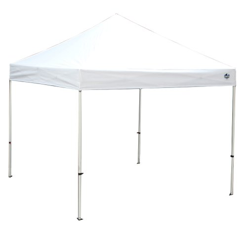 King Canopy FSSHST10WH 10-Feet by 10-Feet Festival Steel Instant Canopy, White by King Canopy