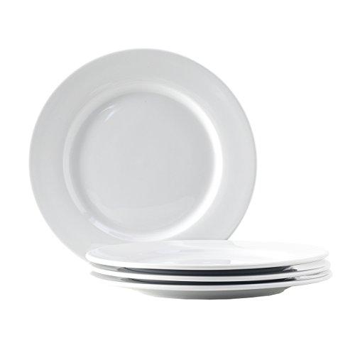 Tuxton Home Alaska Porcelain White 10-1/2