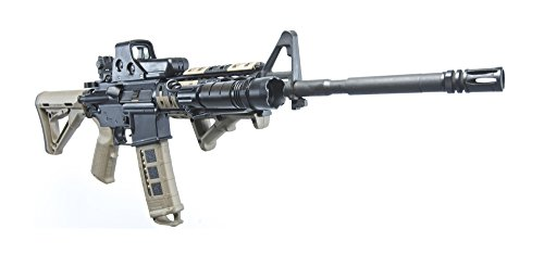 - Posterazzi Rock River Arms AR-15 rifle equipped with combat light. Poster Print (20 x 9)