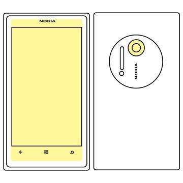 Martin Fields Overlay Plus Screen Protector (Nokia Lumia 1020) - Includes Camera Lens Protector (1020 Nokia Lens Camera)