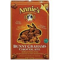 Annie'S Homegrown Chocolate Bunny Grahams 7.5 Oz (Pack of 12)