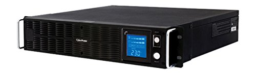 CyberPower PR1500ELCDRTXL2U Smart App Sinewave UPS System, 1000VA/900W, 8 Outlets, AVR, 2U Rack/Tower by CyberPower