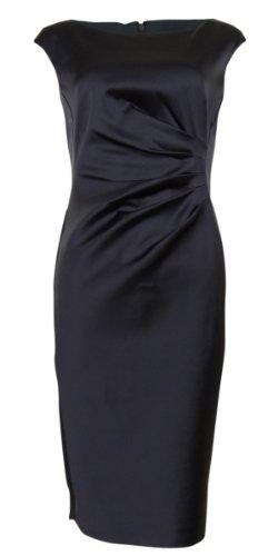 Lauren Ralph Lauren Cap-sleeve Satin Sheath Dress (10)