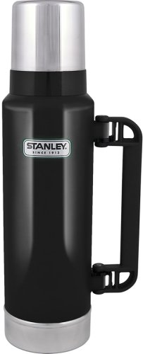 Stanley 1.4-Quart Classic Bottle (Black), Outdoor Stuffs