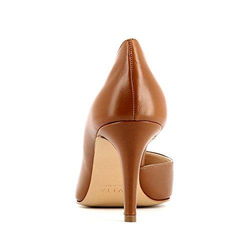 Evita Shoes Jessica - Zapatos de vestir de Piel para mujer coñac