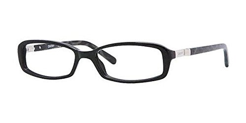 Dkny Dy4617 Eyeglasses 3001 Black Demo Lens 52 16 - Dkny Lens