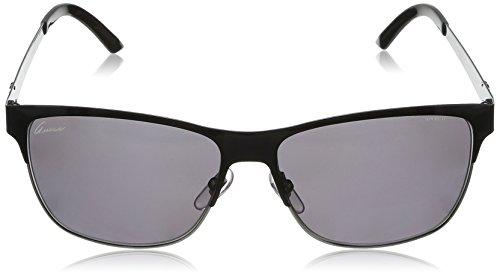 Gucci GG4232/S Sunglasses-0LQ0 Shiny Black (3H Smoke Polarized Lens)-58mm