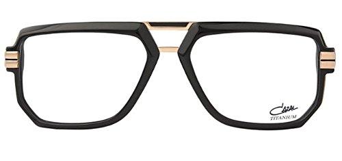 Cazal 6013 Eyeglasses 001 Black-Gold / Clear Lens 57 - Clear Cazal