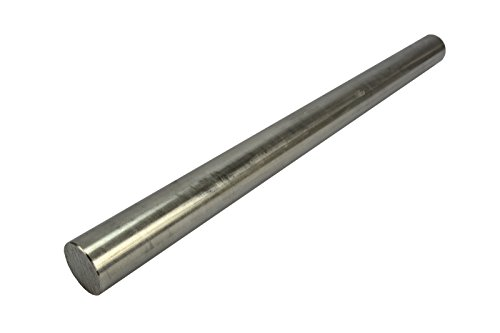 TEMCo 3/4'' Inch Dia 12'' Long 304 Stainless Steel Round Bar Lathe SS Rod Stock .750'' by Temco
