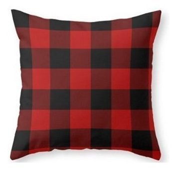 red and black pillows - 2