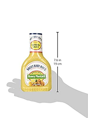 Sweet Baby Ray's Honey Mustard Dipping Sauce (Pack of 2) 14 oz Bottles by Sweet Baby Ray's