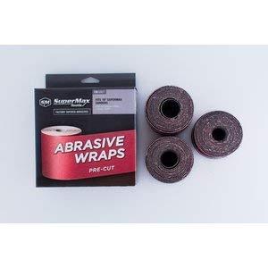 SuperMax 60 Grit Pre-Cut Abrasive Wraps for 19-38 Sanders, 3 Pack