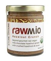 Windy City Organics Rawmio Hazelnut Crunch Spread -- 6 -