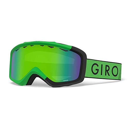 Giro Grade Kids Snow Goggles Bright Green/Black Zoom - Loden Green