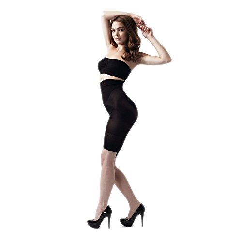 Rubberfashion - Pantalón moldeador - para mujer negro