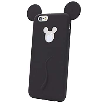 Funda de Silicona para iPhone 6, iPhone 6s Disney Mickey ...