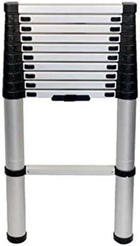 Carbest Escali 1 Plegable Escalera 320 cm, Aluminio, 11 peldaños: Amazon.es: Coche y moto