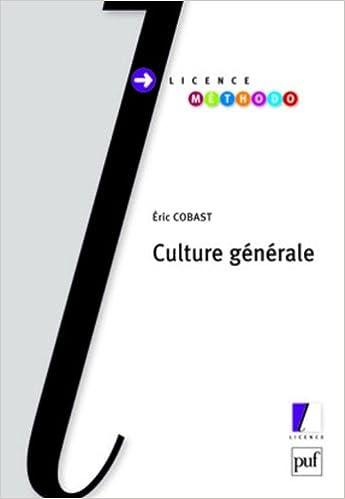 En ligne téléchargement gratuit Culture générale pdf ebook