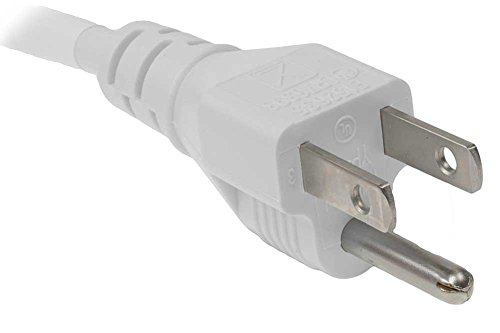 OMNIHIL (8FT) AC Power Cord for Brother MFC Series Printers Replacement Power Supply - White by OMNIHIL (Image #2)