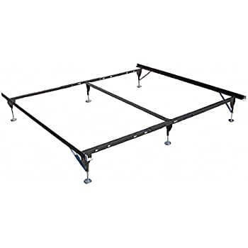 Amazon Com Bed Frame Capacity 500 Lb Twin To King Home
