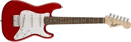 Body Maple Neck Rosewood Fingerboard - Squier by Fender Mini Strat - Rosewood Fingerboard - Torino Red