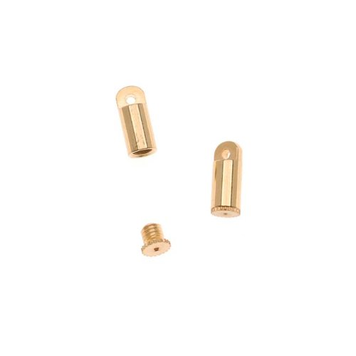 BeadSmith Bead Bandit - Hides Crimps Fits .019 Wire / 2x2mm Crimps Gold - Plated Bead Gold Crimp