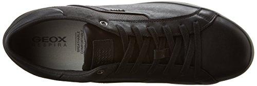Geox U Box C, Zapatillas para Hombre Schwarz (BLACKC9999)