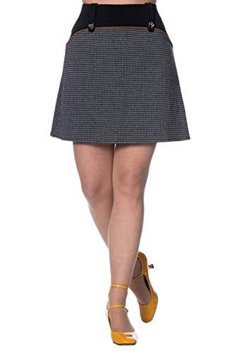 - Banned Bernie Colour Block Skirt - UK-14