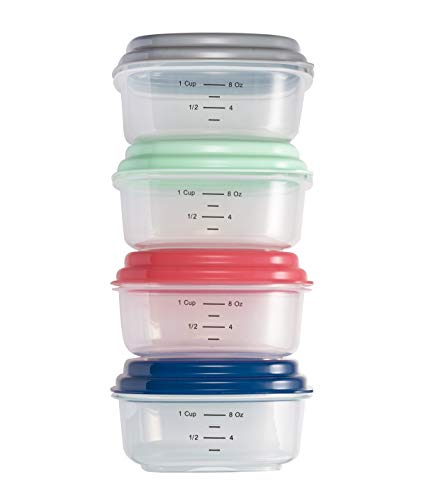 (Fit & Fresh Healthy Living 1 Cup Stak Pak Set, Green)