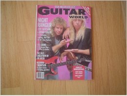 Guitar Magazine Covers - Guitar World Magazine February 1989 Jeff Watson & Brad Gillis (Night Ranger) Cover (Complete Transcriptions for Night Ranger's