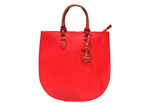 Borsa donna modello shopping a mano Lookat lk1349 rosa