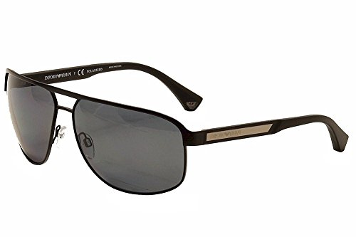 Emporio Armani EA 2025 Men's Sunglasses Matte Black - Armani Sunglasses Womens Emporio