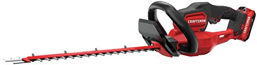 CRAFTSMAN V20 Cordless Hedge Trimmer, 22-Inch  (CMCHTS820D1) (Renewed)