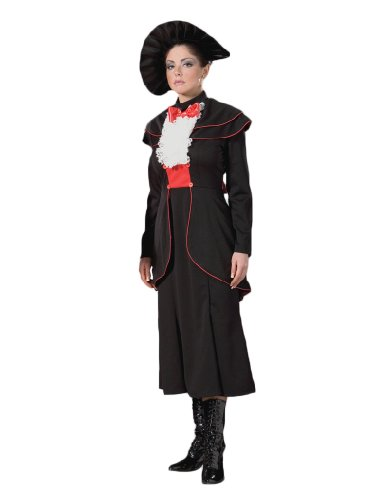 Mary Sugar Spoon - Women's Black Mary Poppins Spoon Fully of Sugar Theater Costume L
