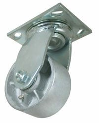 8X2 Cast Iron Swivel Caster with brake