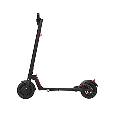 GOTRAX GXL Commuting Electric Scooter 8.5 Air Filled Tires 15.5MPH & up to 12mile Range (Black)