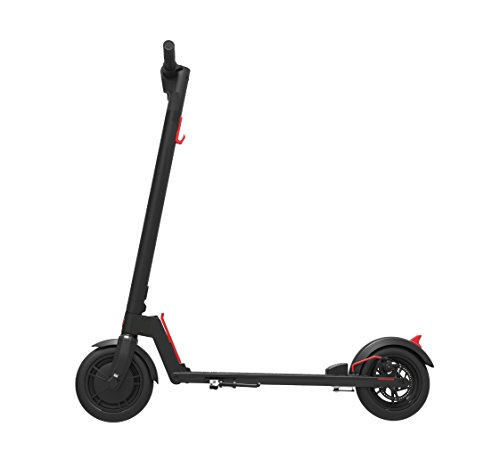 "GOTRAX GXL Commuting Electric Scooter - 8.5"" Air Filled Tires - 15.5MPH & up to 12mile Range (Black)"